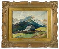 Chata w górach