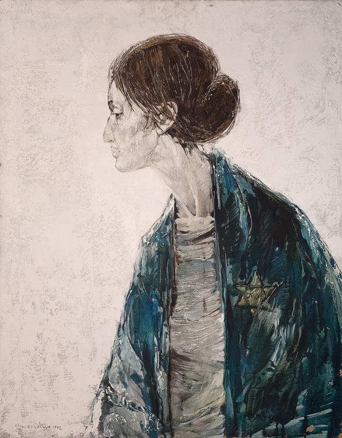 Portret kobiety, 1972 r.