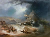 Burza na morzu, 1835 r.