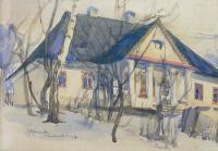 Dworek, 1918 r.