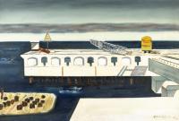 Port Północny – pirs II, 1973 r.
