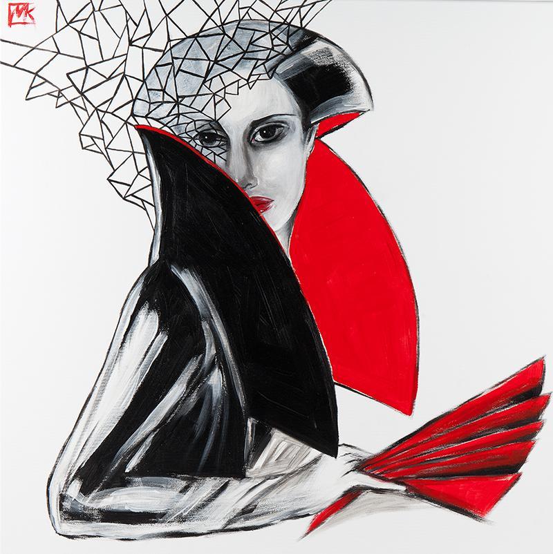 Tilda, origami geisha, 2020