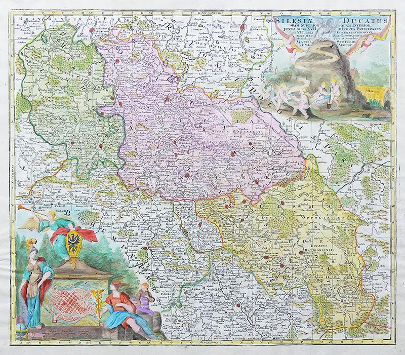 Silesiae Ducatus tam superior quam inferior…
