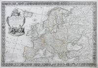 L'europe divisée dans ses principaux etats…