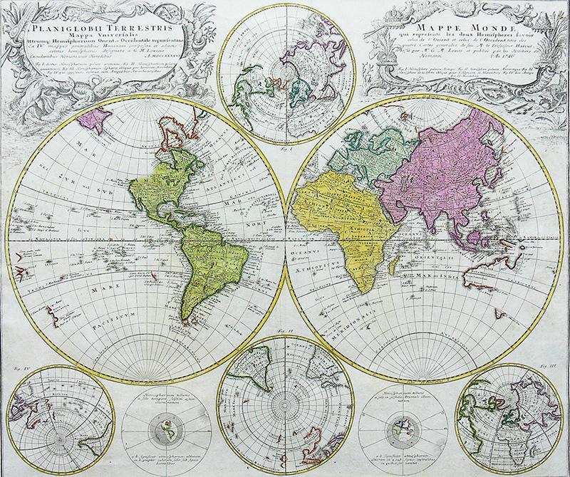 Planiglobii Terrestris Mappa Universalis…/Mappe Monde…