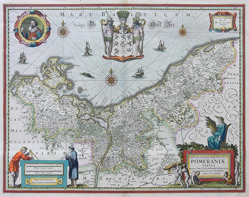 Nova illustrissimi Ducatus Pomeraniae tabula…