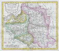 Royaume de Pologne, divisé selon les Partages…