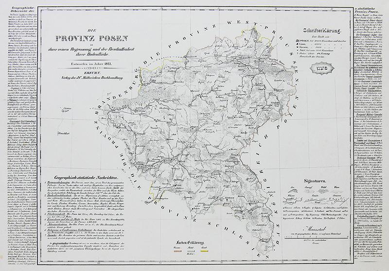 Die Provinz Posen in ihrer reinen Begrenzung…