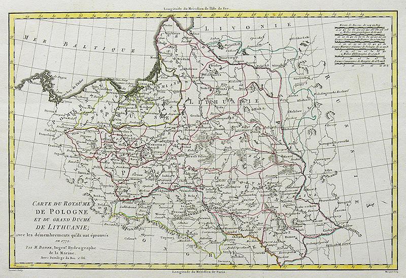 Carte du Royaume de Pologne et du Grand Duché de Lithuanie…