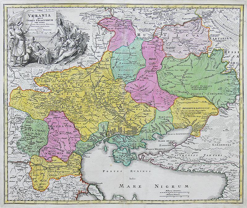 Ukrania quae et terra cosaccorum cum vicinis Walachiae…