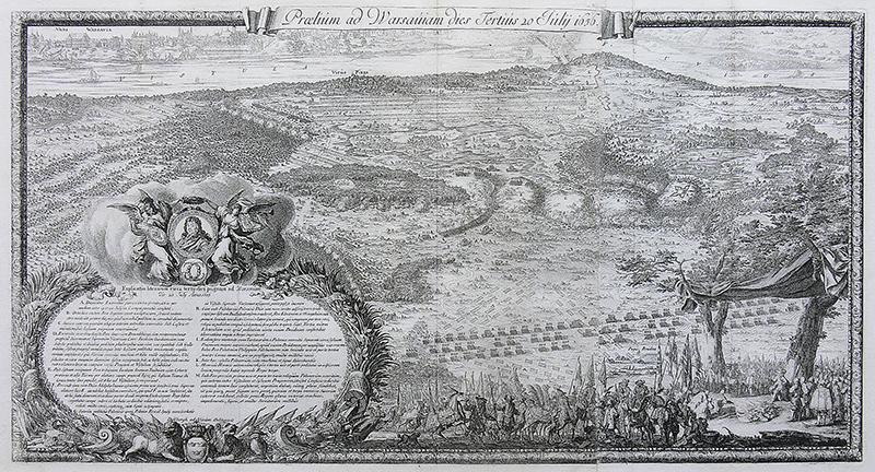 Praelum ad Warsauiam dies Tertius 20 Julij 1656