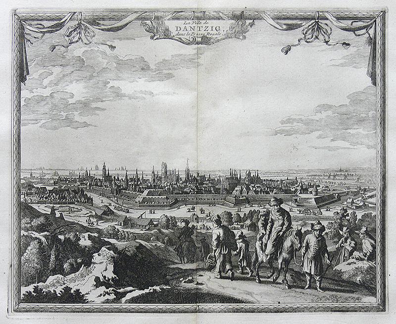 La Ville de Dantzic, dans la Prusse Royale