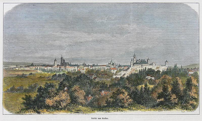 Ansicht von Krakau