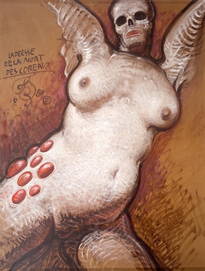 Bogini śmierci korali (La deese de la mort des coraux), 1989