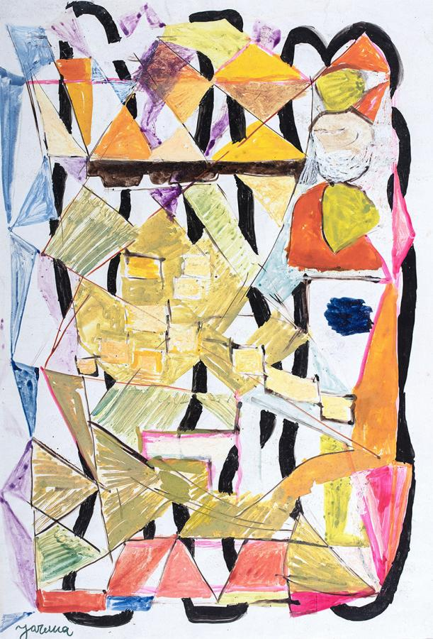 Kompozycja abstrakcyjna