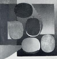 Kompozycja abstrakcyjna (Owale)