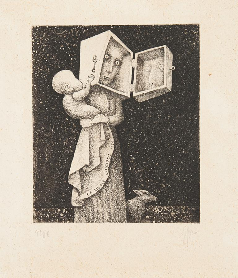 Ex libris Liucijos, 1976 r.