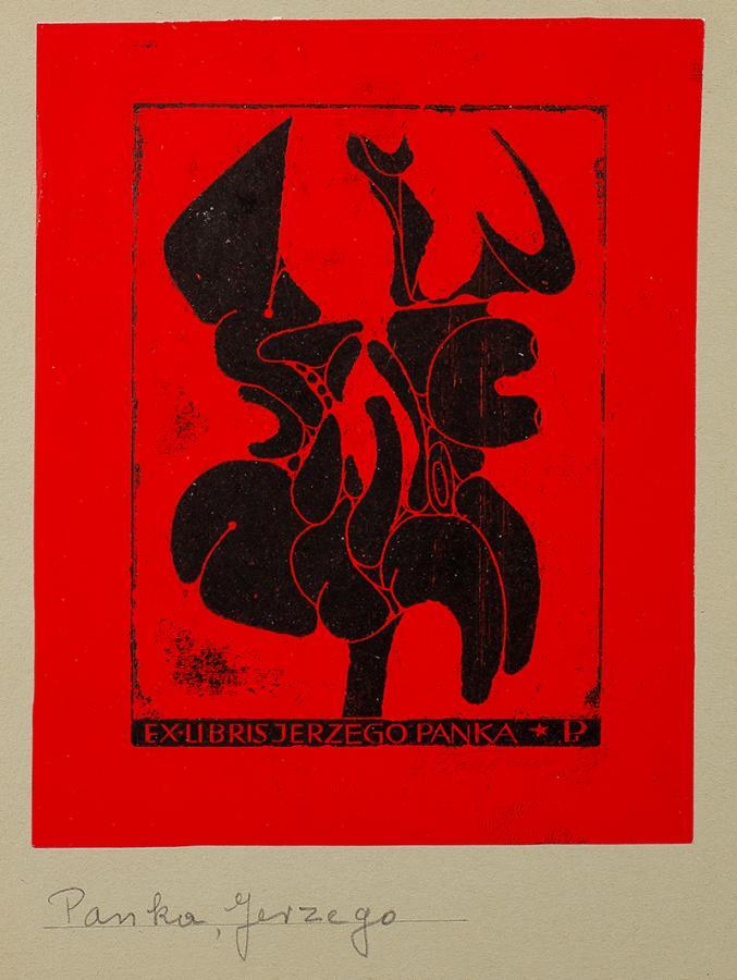 Ex libris Jerzego Panka, 1969 r.