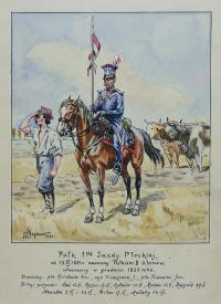 Pułk 1 Jazdy Płockiej, 1931 r.