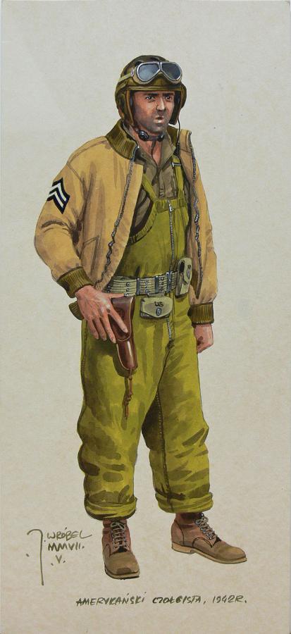 Amerykański czołgista z 1942 roku