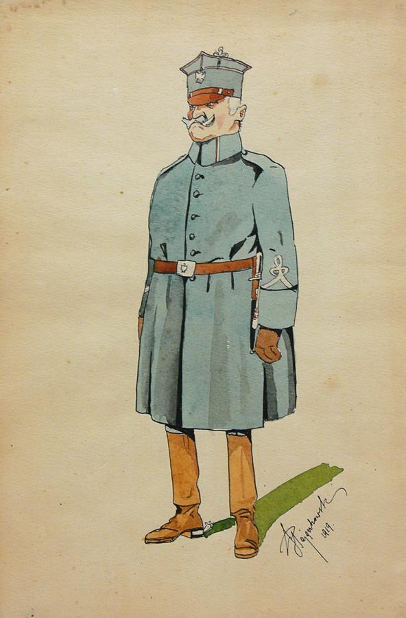 Hallerczyk, 1919 r.