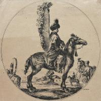 Rotmistrz husarski Szczodrowski, l. 1648-1650