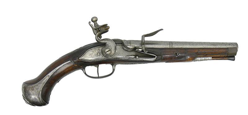 PISTOLET KAWALERYJSKI SKAŁKOWY, BELGIA, OK. 1850 R.