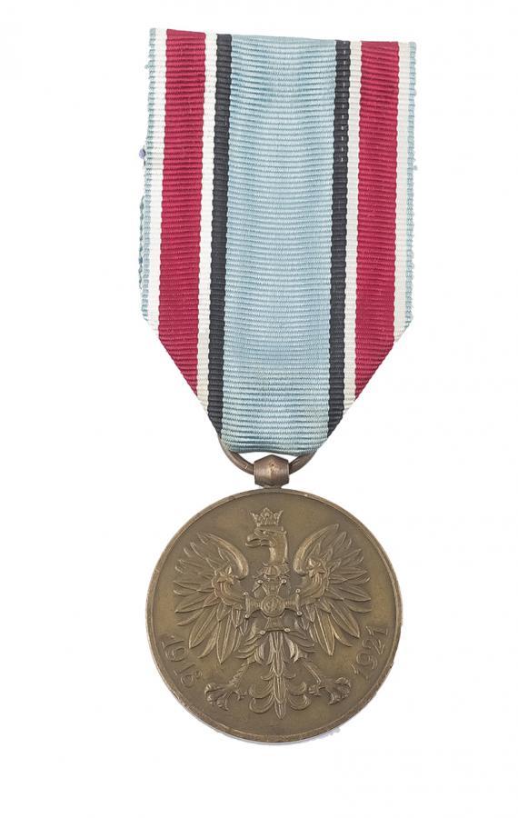 MEDAL PAMIĄTKOWY ZA WOJNĘ 1918-1921 II RP