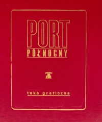 Teka graficzna PORT PÓŁNOCNY, 1974 r.