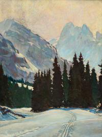 Dolina potoku Biała Woda, 1939 r.