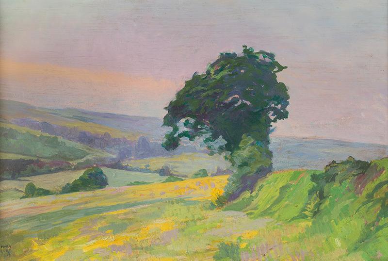 Pejzaż, 1919 r.