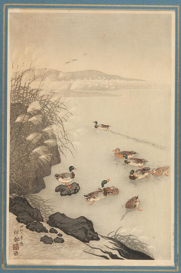 Kaczki, Japonia, okres Showa, ok. 1930 r.