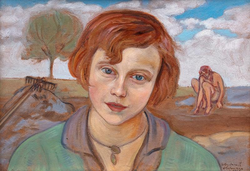 Głowa dziewczyny, 1928 r.
