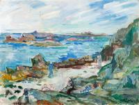 Wybrzeże Bretanii, ok. 1930 r.