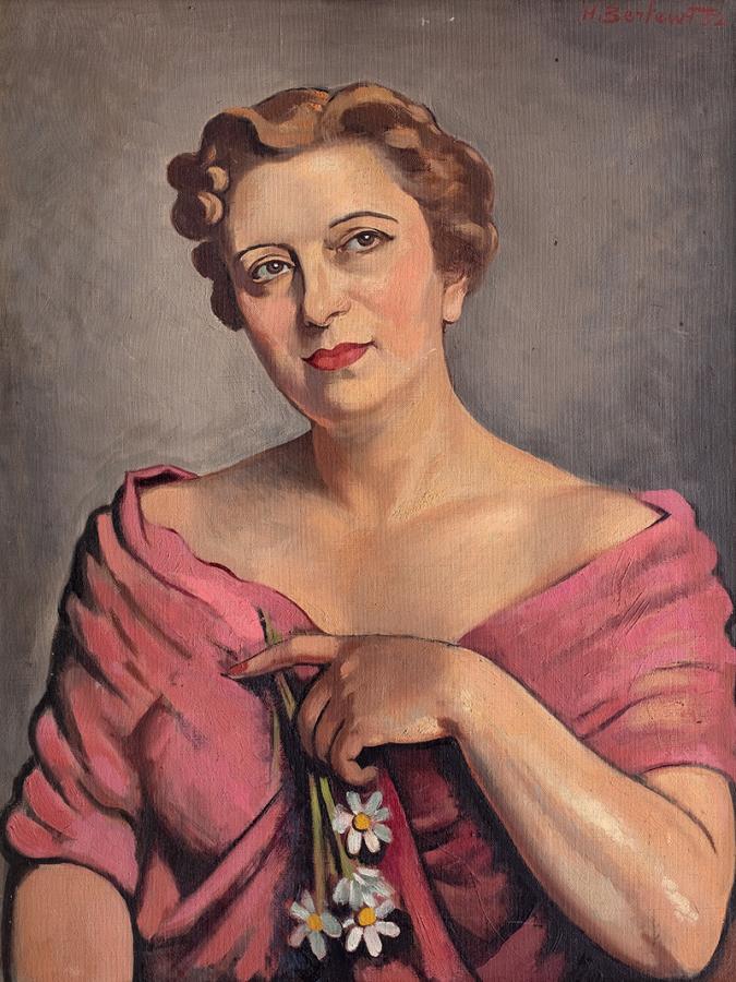 Portret kobiety, 1952