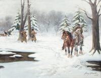 Zimowy patrol