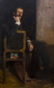 Portret mężczyzny, 1906 r.