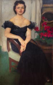 Portret Pani Sch., przed 1959 r.