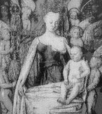 Jean Fouquet - Madonna z Dzieciątkiem wśród Aniołów, 2020