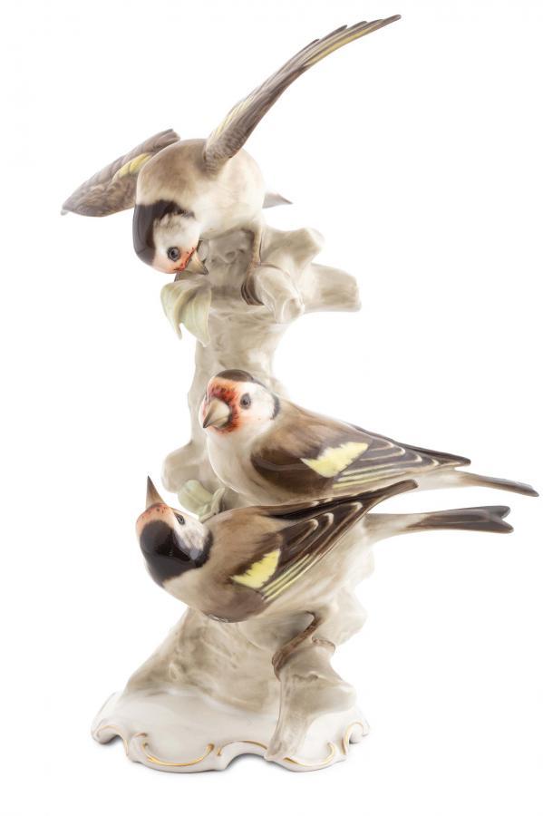 Grupa ptaszków (szczygły), Hutschenreuther, lata 1955 - 1968