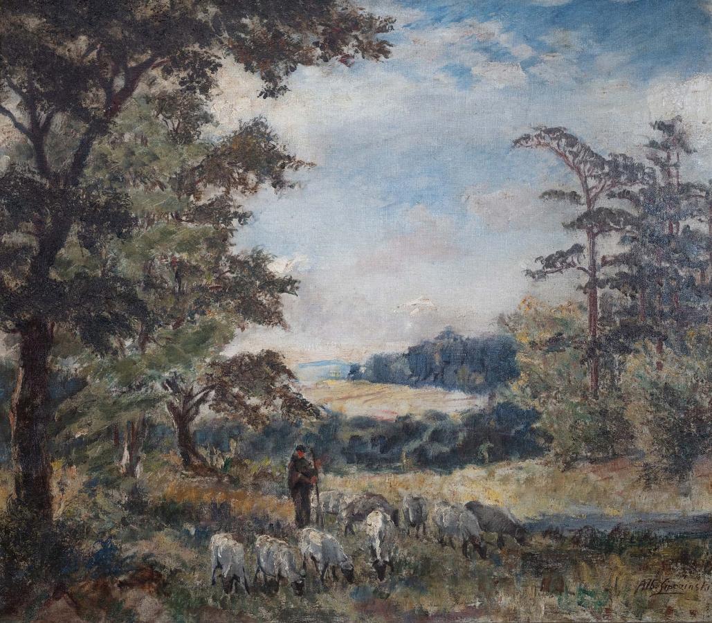 Scena z pasterzem