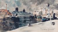 Gdańsk – nad Motławą, 1920 r.