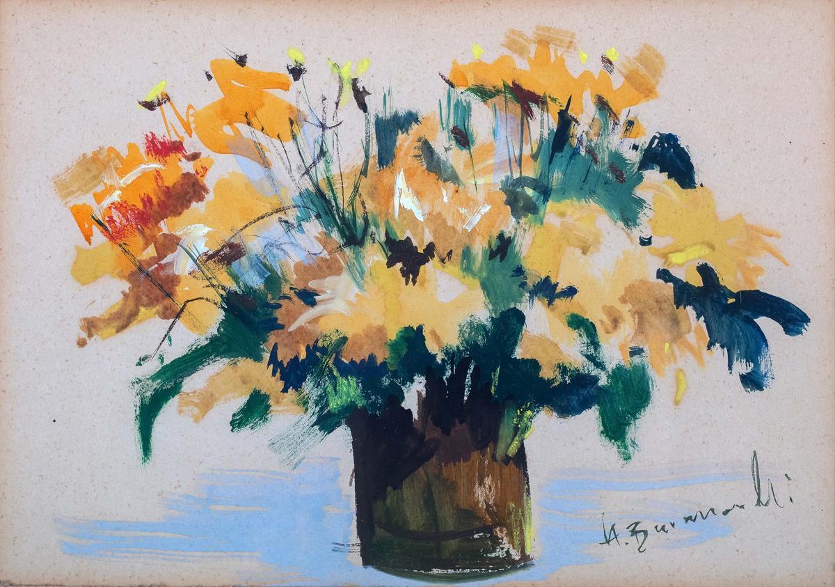 Kwiaty, przed 1974 r.