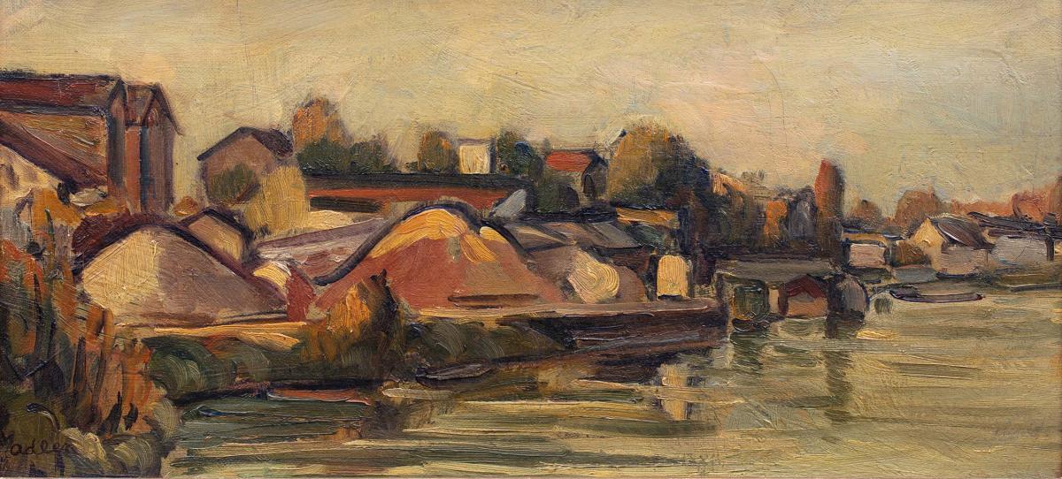 Pejzaż z Sekwaną, 1954