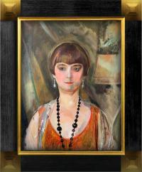 Portret pani Louise Llewellyn-Jareckiej, 1928 r.