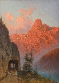 Rozżarzone Alpy, 1877 r.