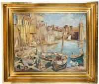 Port w Collioure, lata 20-te XX w.
