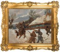 Atak na bolszewików, 1940 r. (?)