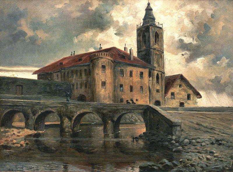 Zamek w Crikvenicy (Chorwacja), 1902 r.