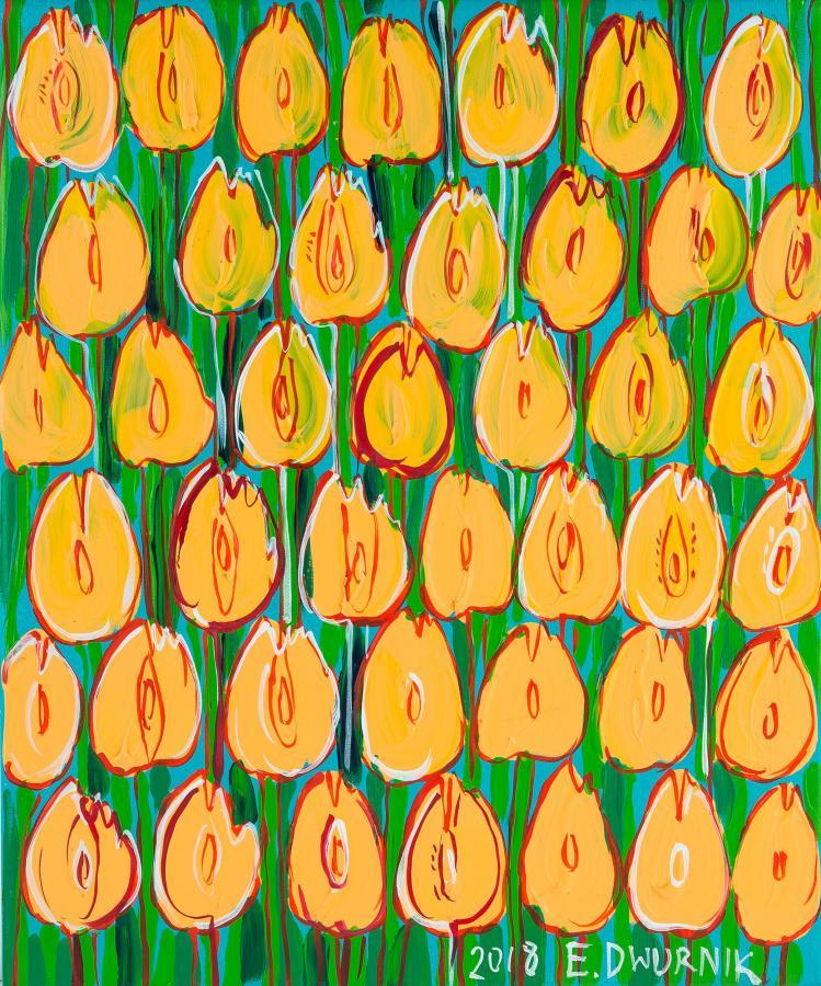 Żółte tulipany nr: XXIII
